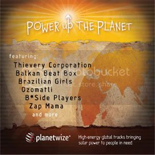 Power Up The Planet CD